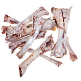 Bare chicken bones Royalty Free Stock Photos