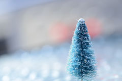 Bare Christmas Tree Royalty Free Stock Image