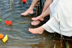 Bare feet Stock Image