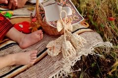 Bare feet Royalty Free Stock Images