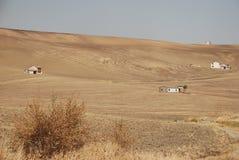 Bare Field in Puglia Stock Photo