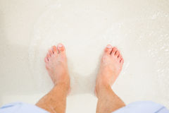Bare Foot Royalty Free Stock Images