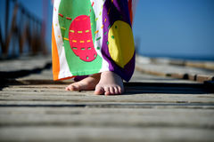 Bare foots Stock Photo
