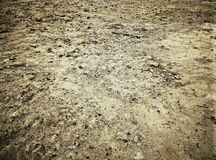 Bare ground for the construction Stock Image