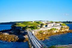 Bare Island. Fortification, La Perouse, Sydney, Australia Royalty Free Stock Photography