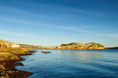 Bare Island Australia Stock Photo