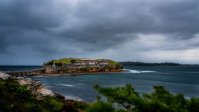 Bare Island at La Perouse. Stock Photography