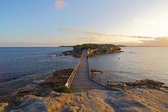 Bare Island, La Perouse Stock Photo