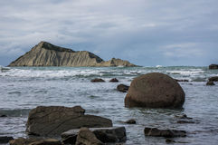 Bare Island (Motu-O-Kura).  Hawke's Bay. New Zealand Stock Images