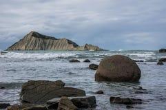Bare Island (Motu-O-Kura).  Hawke's Bay. New Zealand Stock Images