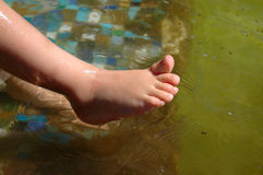 Bare little feet Royalty Free Stock Photos
