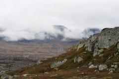 Bare mountains Stock Photo