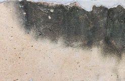 Bare raw concrete wall texture useful as background Royalty Free Stock Images
