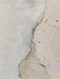 Bare raw concrete wall texture useful as background Royalty Free Stock Image