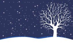 Bare tree - Stock Illustration Royalty Free Stock Photo