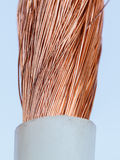 Bare wires copper wire closeup Stock Photography
