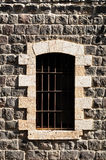 Bared window. Royalty Free Stock Images