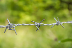 Bared Wired Stock Photo