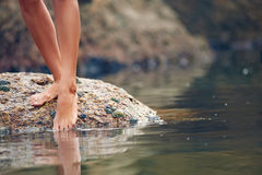 Barefeet beauty Royalty Free Stock Photos