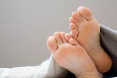 Barefoot Royalty Free Stock Photo