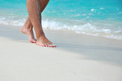 barefoot imagens de stock royalty free