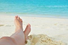 barefoot fotos de stock
