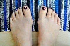 barefoot imagens de stock