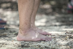 barefoot foto de stock royalty free
