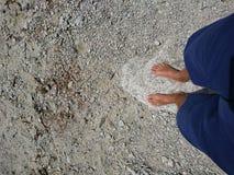 barefoot Immagini Stock