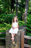 Barefoot Beauty stock photography