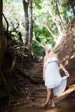 Barefoot Beauty Royalty Free Stock Photos