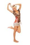 Barefoot blonde Royalty Free Stock Image