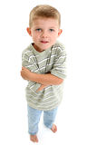 Barefoot Boy Child Stock Photography