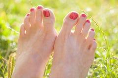 Barefoot Royalty Free Stock Photos