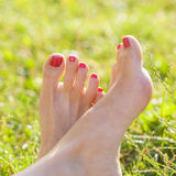 Barefoot Royalty Free Stock Photography