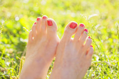 Barefoot Royalty Free Stock Images
