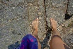 Barefoot Stock Photo