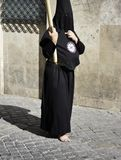 The barefoot sinner. The Spanish world between fun and sacrality Stock Photography