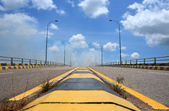 The Barelang Bridge road royalty free stock photos