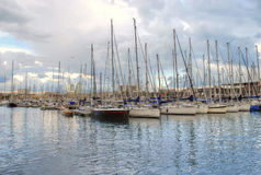Barelona-Hafen Stockfotos