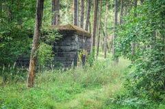 ` Barenholle ` бункера ` s Гитлера нацистское около Смоленска России стоковая фотография rf