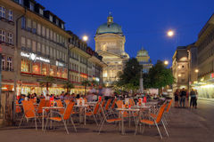 Barenplatz, Bern, Switzerland stock photography