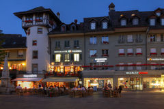 Barenplatz, Bern, Zwitserland Royalty-vrije Stock Foto