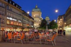 Barenplatz, Berna, Switzerland Fotografia de Stock