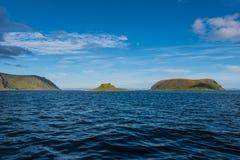 Barents morze blisko Honningsvag, Norwegia zdjęcia stock