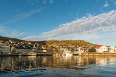 Barents morze w Finnmark, Norwegia fotografia royalty free
