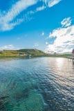 Barents morze w Finnmark, Norwegia obraz royalty free