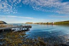 Barents morze w Finnmark, Norwegia zdjęcia royalty free