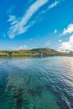 Barents morze w Finnmark, Norwegia zdjęcie stock