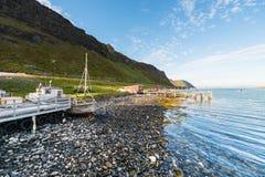 Barents morze w Finnmark, Norwegia obrazy royalty free